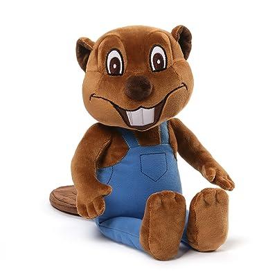 Gund Busy Beavers: Billy Beaver Stuffed Animal Plush: Toys & Games