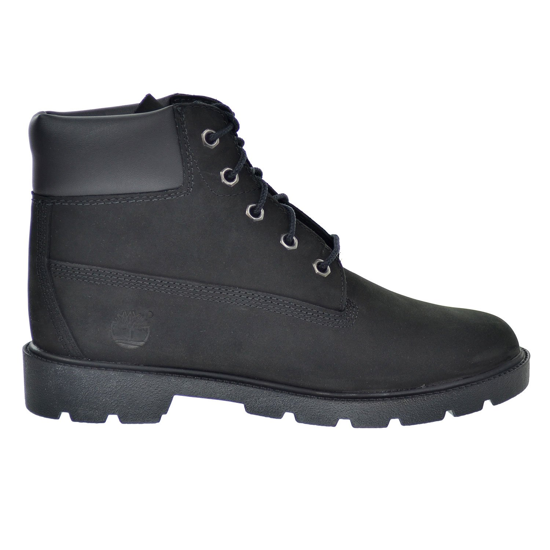 Timberland Classic Boot Big Kids Shoes Black/Noir 10910-7