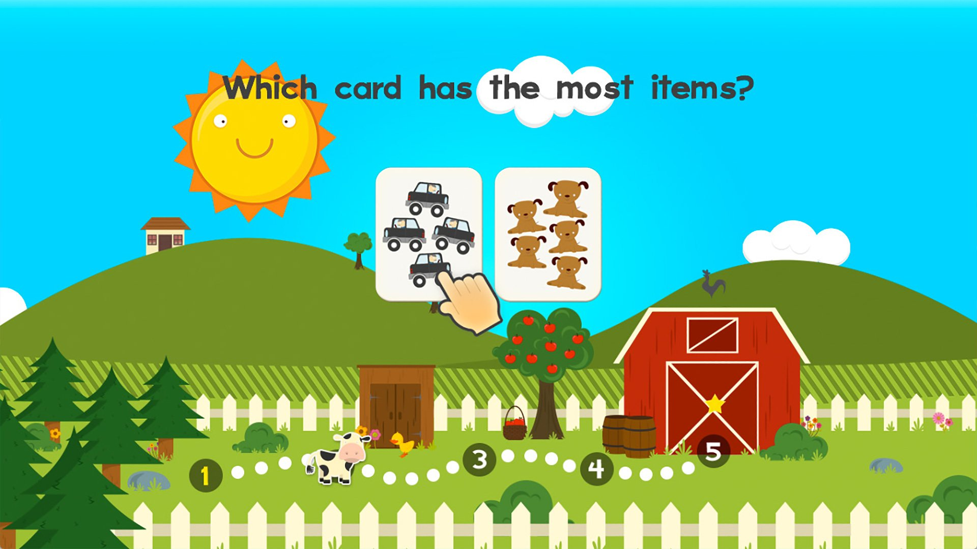 Amazon.com: Animal Math Games for Free First Grade and Kindergarten ...