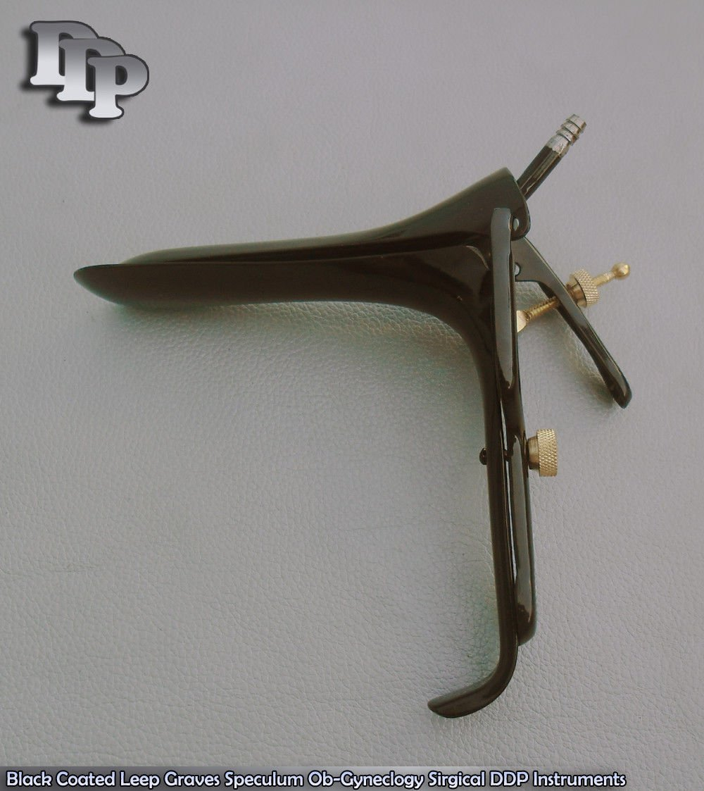 Black Coated Leep Graves Speculum Medium DDP