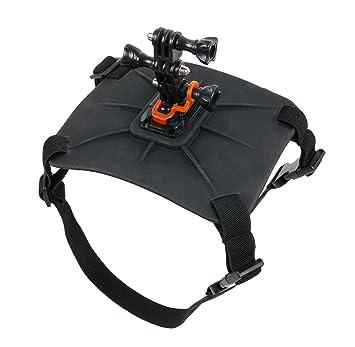 DURAGADGET Hundegeschirr für die Takara CS17 4K WiFi, AEE Lyfe Titan Sportkamera, Takara CS10 Full HD WiFi und die Hyundai Hc