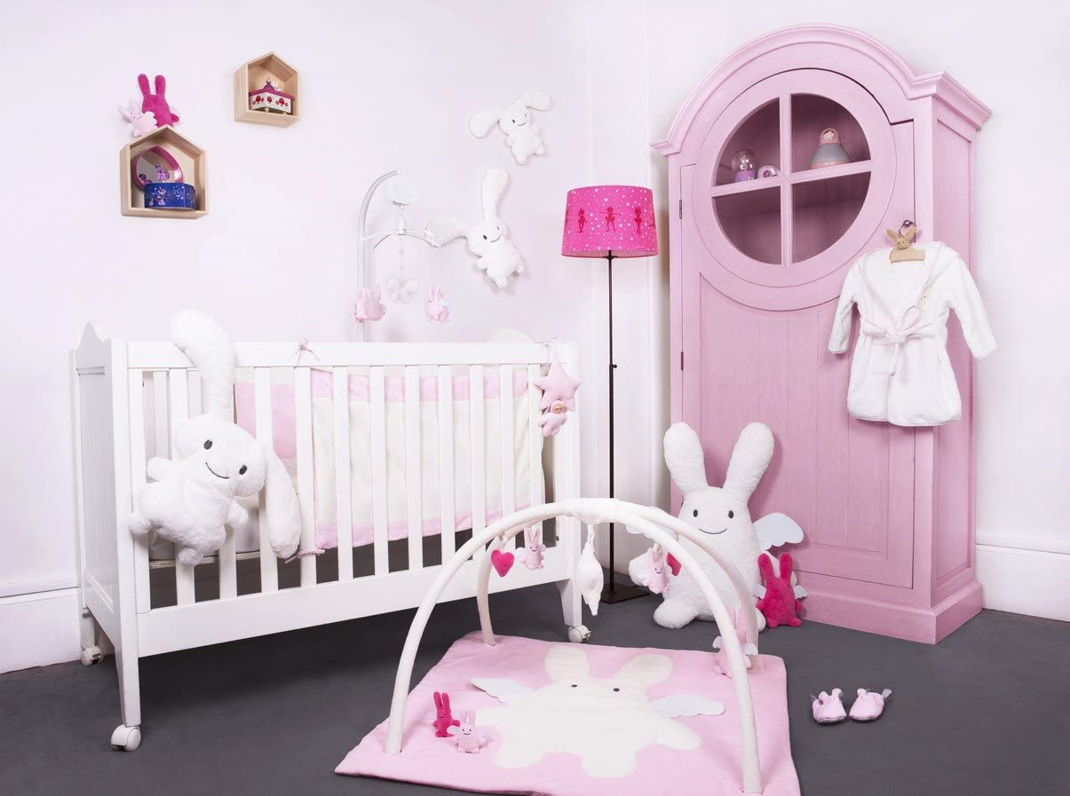 /Doudous /ángel conejo /colores a elegir Rose Trousselier/ 18/cm/