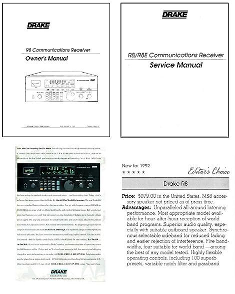 amazon com drake r8 shortwave receiver photocopy instruction rh amazon com Service ManualsOnline Service Station