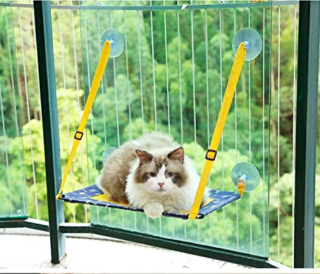 Awesome Amazon Com Bonaweite Cat Window Perch Hammock Pet Kitty Andrewgaddart Wooden Chair Designs For Living Room Andrewgaddartcom