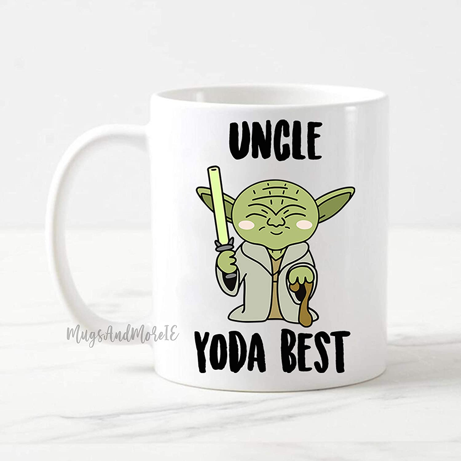 Funny Star Wars Mug Gift for Uncle Uncle Yoda Best Coffee Mug Star Wars Gift Uncle Gifts Uncle Present Funny Coffee Mug Uncle Mug