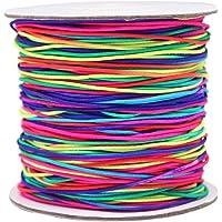 Hilo Elástico, INTVN Redondo Cuerda Elástica para Fabricación