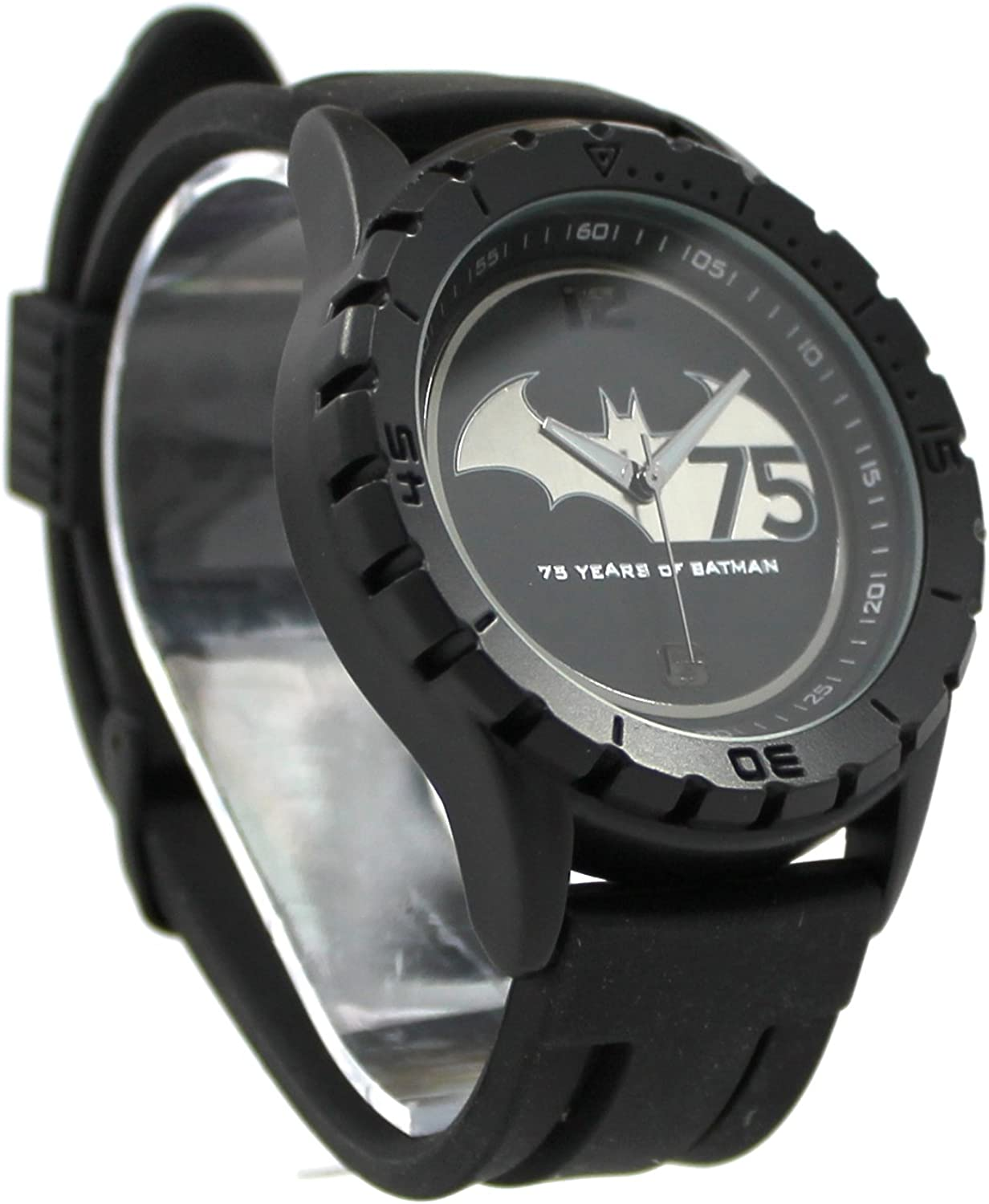 75 Years of Batman Black Stealth Mens Watch (BAT7001)