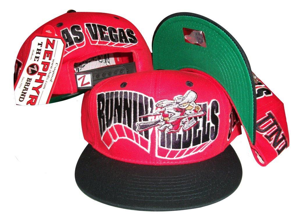 ネバダ州ラスベガスUNLV Runnin ' Rebels Red/Navyスナップバック帽子/キャップ   B004MCSCUM