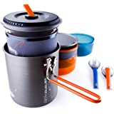 GSI Outdoors - Halulite Microdualist, Camp Cook Set, Superior Backcountry Cookware Since 1985