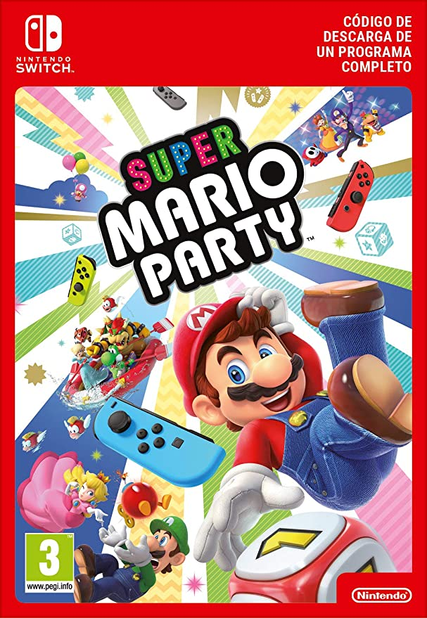 Super Mario Party | Nintendo Switch - Código de descarga: Amazon.es: Videojuegos