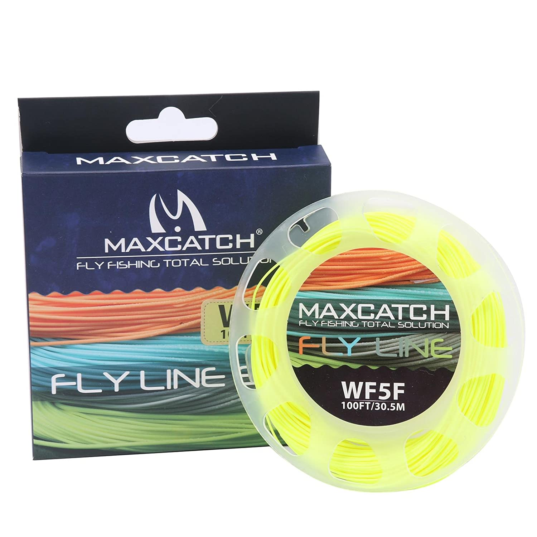 M MAXIMUMCATCH Maxcatch ECO フローティングフライライン ウエイト フォワードデザイン 溶接ループ (3F、4F、5F、6F、7F、8F) WF5F   B07KXT3LRM