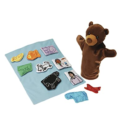 Brown Bear Brown Bear Puppet and Props Set for Children, 12-Piece with Bag, Ages 3 Years and Up: Industrial & Scientific