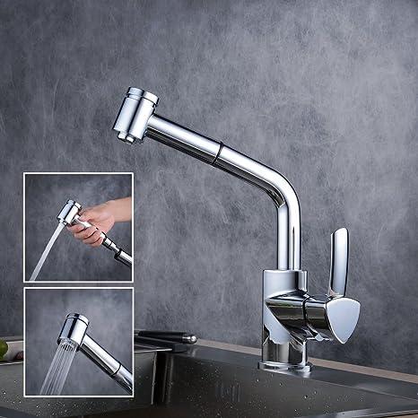 Beelee BL1747 Miscelatore Monocomando rubinetto lavello con doccetta ...