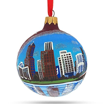 BestPysanky Portland, Oregon Glass Ball Christmas Ornament 3.25 Inches - Amazon.com: BestPysanky Portland, Oregon Glass Ball Christmas