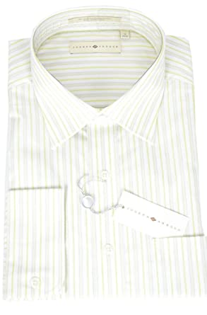 13ed5c94c4f1 Image Unavailable. Image not available for. Color: Joseph Abboud Mens  Button Front Dress Shirt in White ...
