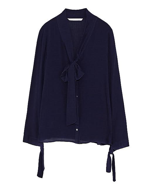 Zara - Camisas - para mujer turquesa X-Large