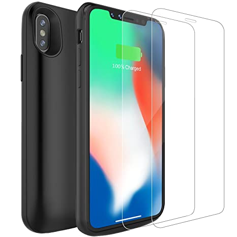 custodia iphone x powerbank