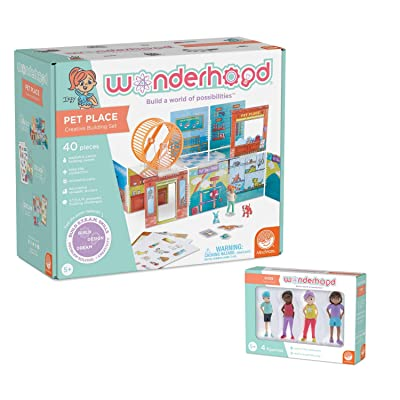 MindWare WONDERHOOD kit: Pet Place and Character Figures: Toys & Games
