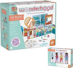 MindWare WONDERHOOD kit: Pet Place and Character Figures