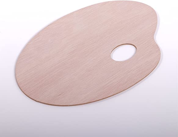 Holzpalette oval 20x30 cm 5mm