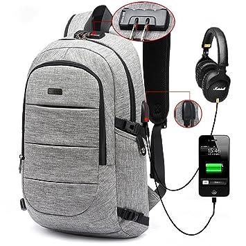 Amazon.com: Business Laptop Backpack, Anti Theft Waterproof Travel ...