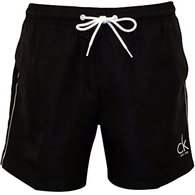 Calvin Klein CK NYC Classic Men\u0027s Swim Shorts, Black Large