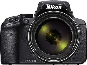 نيكون كولبيكس P900  - 16 ميجابيكسل, بوينت اند شوت كاميرا, اسود