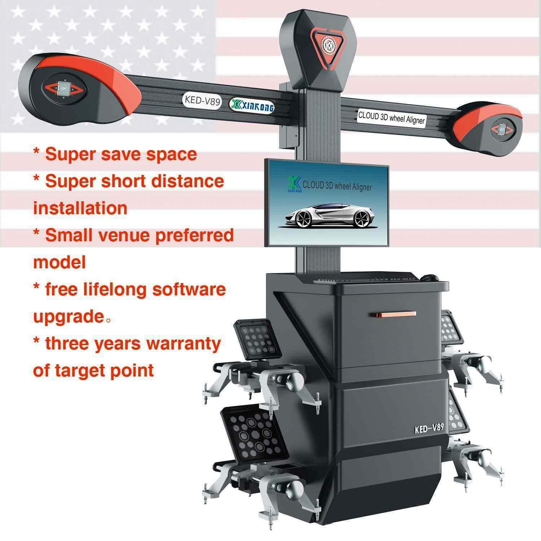 Wheel Alignment Machine >> Amazon Com Xk Usa V89 Wheel Alignment Machine 3d Tire Aligner
