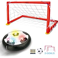 TFS LED Air Soccer Set with 2 Goals and Inflatable Ball