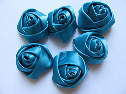 fef6e25227244 YYCRAFT Pack of 30 Satin 4d Rose 1.5