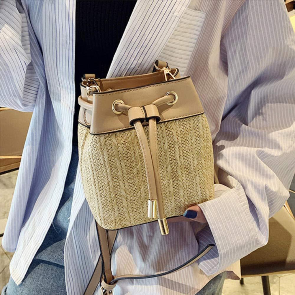 Dwqlx väska kvinnor axelväskor crossbody väskor kvinnor bohemiska sommar strand halmväska dam handväska-1 4