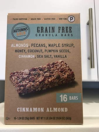 Autumn Gold Grain-Free Granola Bars
