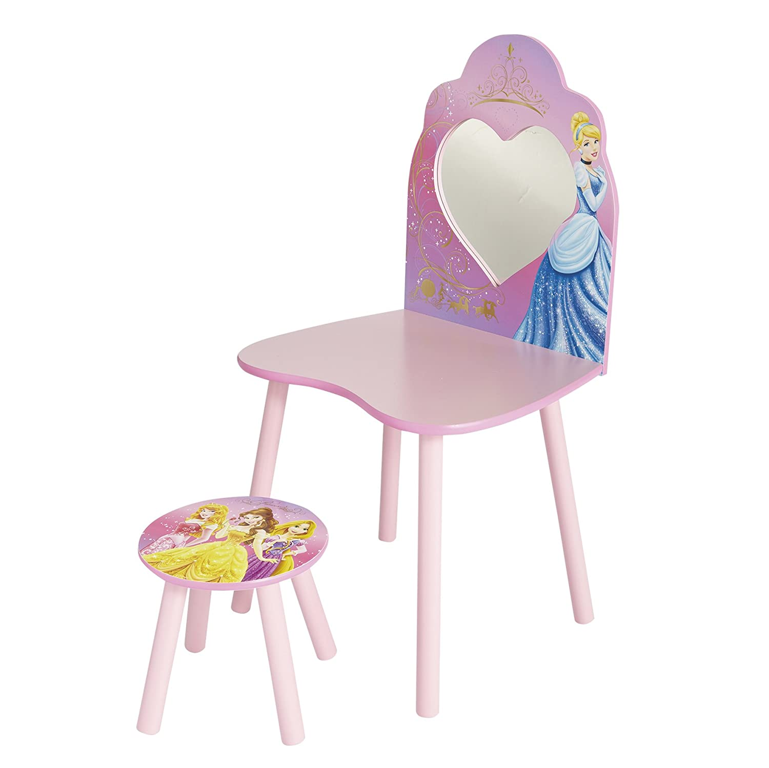Disney Princess Dressing Table and Stool by HelloHome Worlds Apart 462DIR
