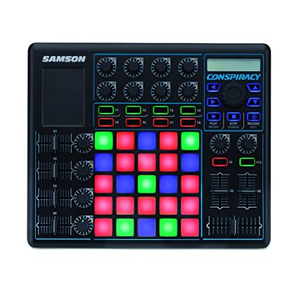 samson saconspir conspiracy midi control surface: amazon ca: musical  instruments, stage & studio