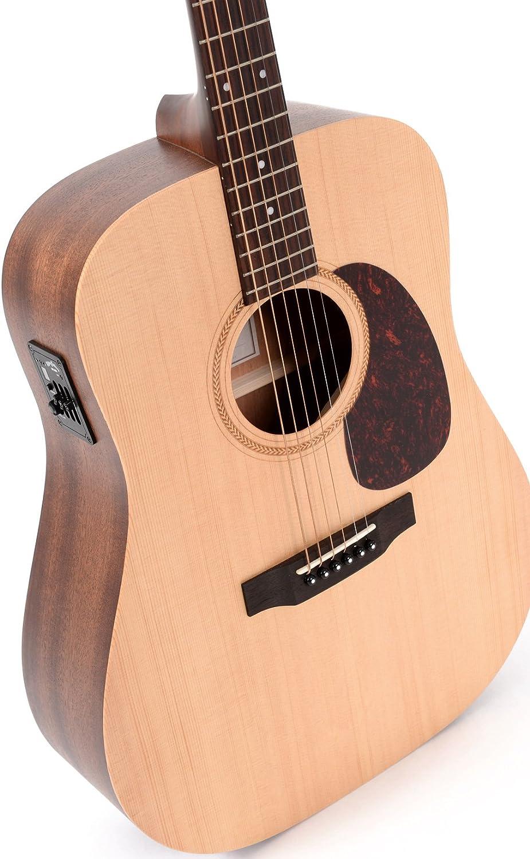 Guitarra Acústica/Electroacústica Sigma DME+: Amazon.es ...