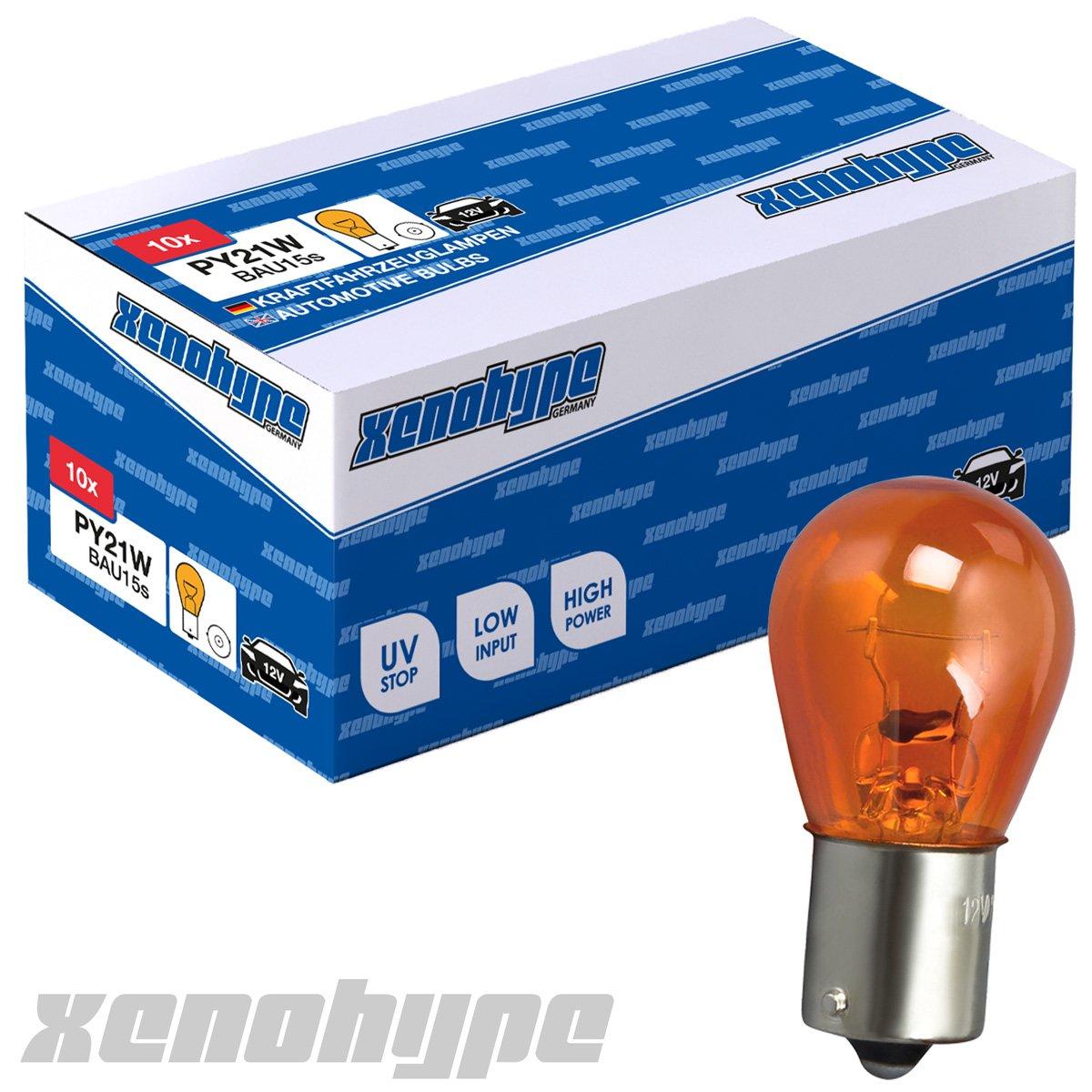 Xenohype Classic Line 10er Set Bau15s PY21W