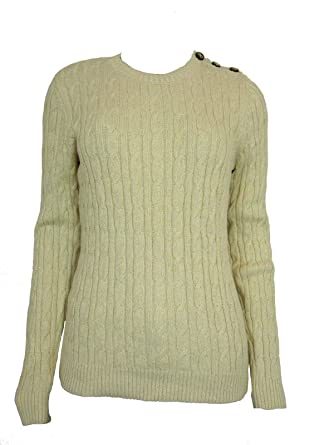 Charter Club Womens Plus Cable Knit Long Sleeves Pullover Sweater at ... b63b3d4ae