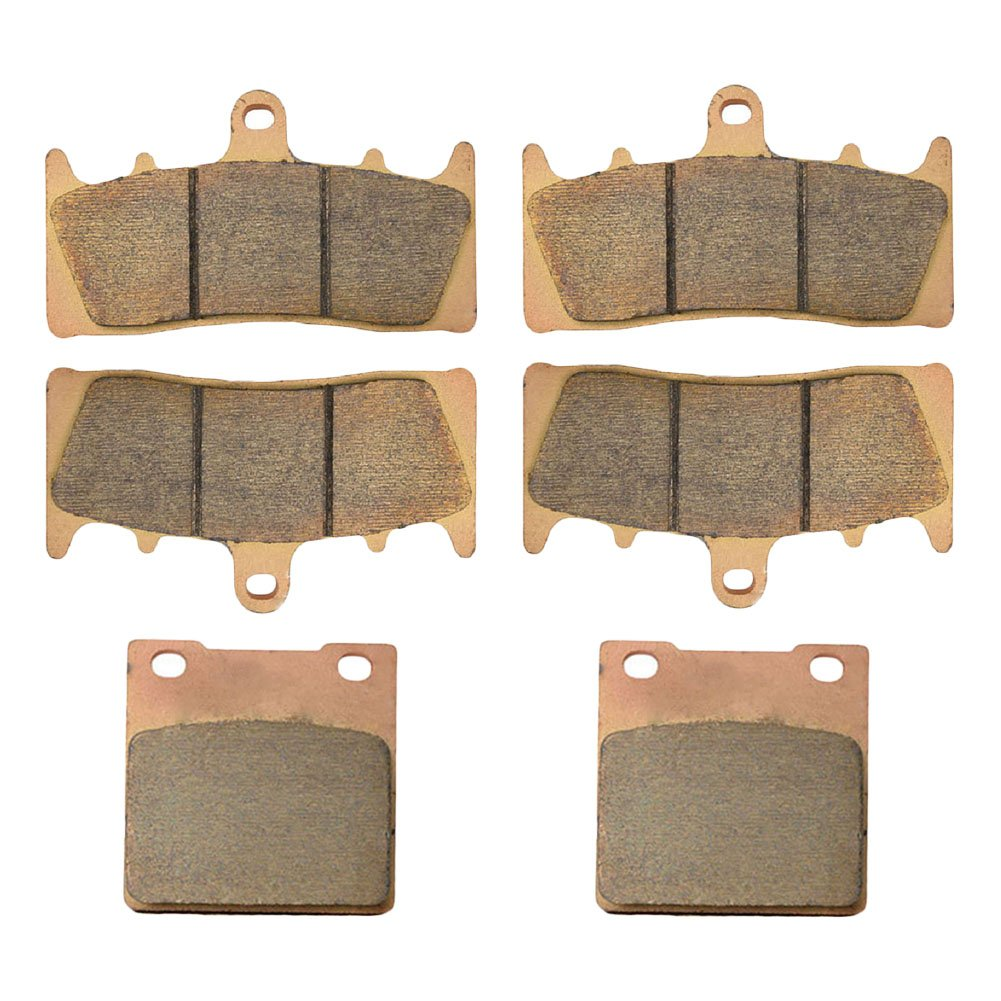 AHL Front & Rear Brake Pads Set for Suzuki GSX1300 R Hayabusa 1999-2007 (Sintered copper-based) by AHL