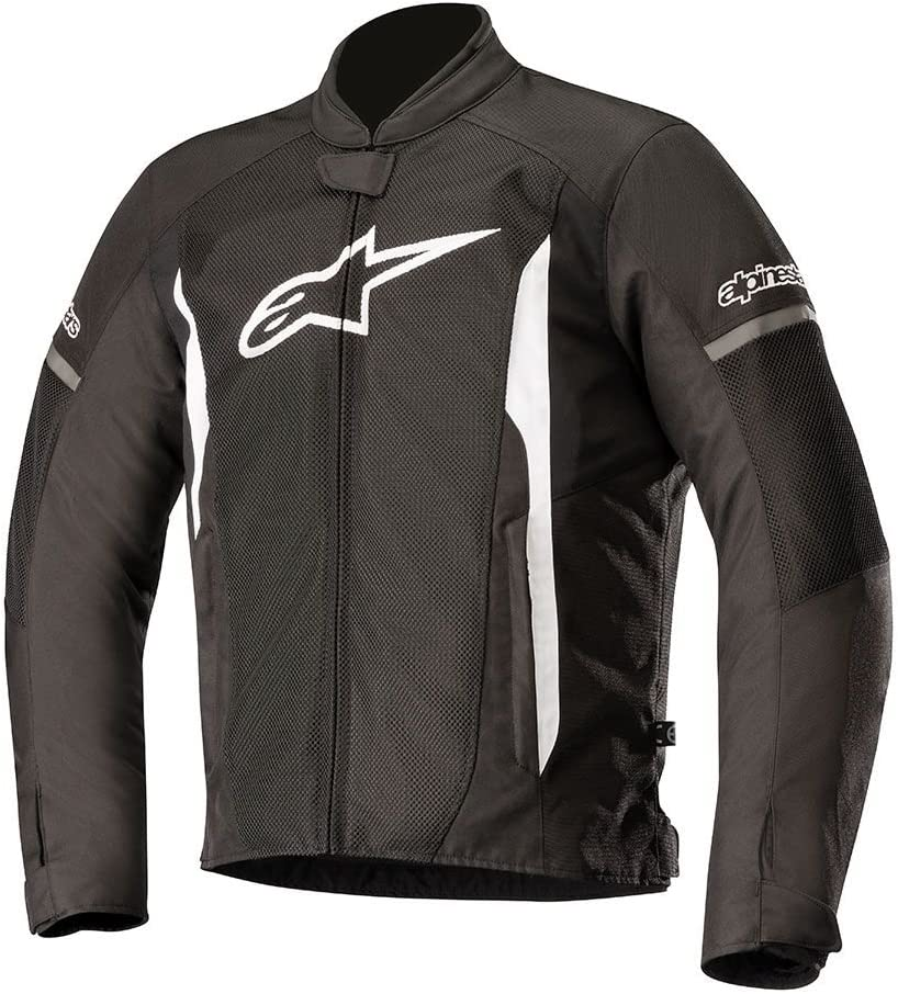 Alpinestars Adult Motorcycle T-Faster Air Jacket Black//White M