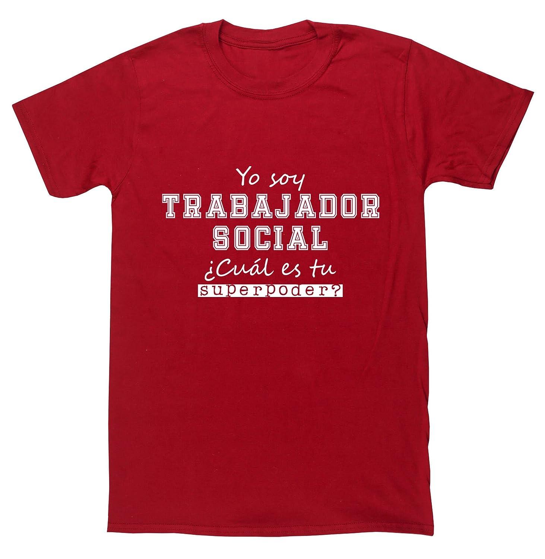 HippoWarehouseYo Soy Trabajador Social, ¿Cuál es tu Superpoder?camiseta manga corta unisex: Amazon.es: Ropa y accesorios