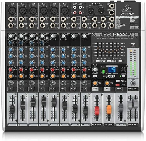 Behringer Xenyx X1222USB Interface