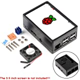 Amazon.com: for Raspberry Pi 3 b+ Display Case, 3.5 inch TFT ...