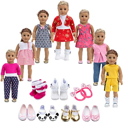 "New Lot 11 Pair of Shoes Accessories For 18/"" American Girl doll Toy Xmas gift"