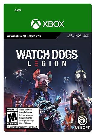 Amazon Com Watch Dogs Legion Xbox Series X S Xbox One Standard Edition Digital Code Video Games