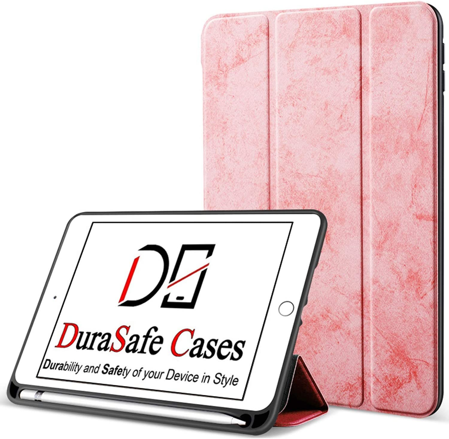 "DuraSafe Cases For iPad PRO / Air - 10.5"" Protective Durable Shock Proof Pencil Holder Cover - Pink"