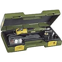 Proxxon 28430 Micromot 230/E-Fresadora (con maletín, 34 Herramientas, diámetro de 37…