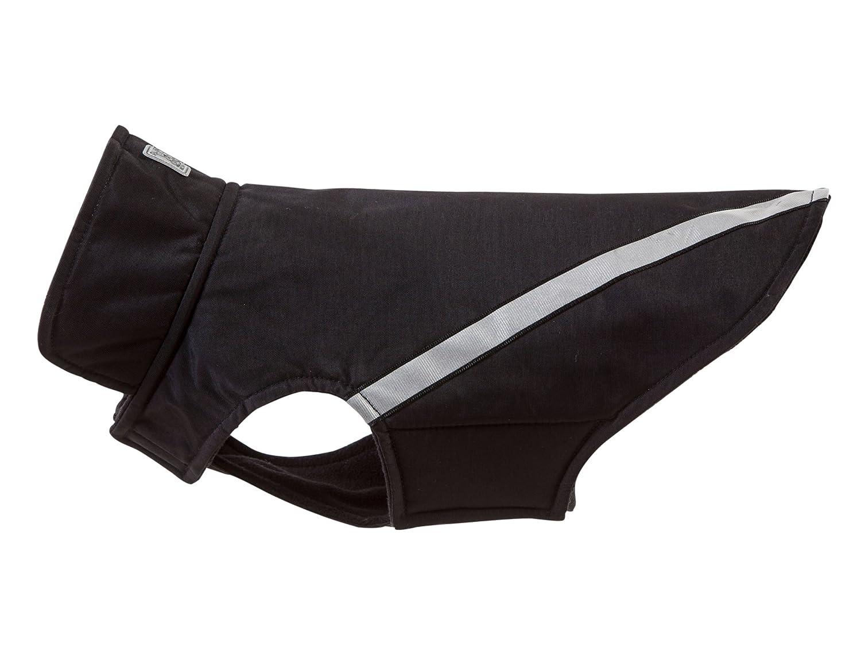 Black 18RC Pet Products West Coast Rainwear Raincoat, Fleece Lined, WaterResistant, Reflective Dog Coat, Size 22, Red