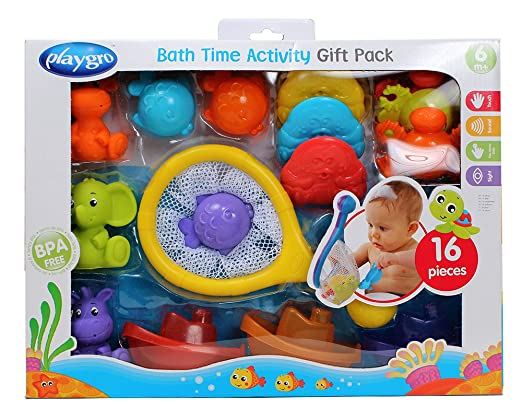 Playgro Baby Bath Time Activity Pack