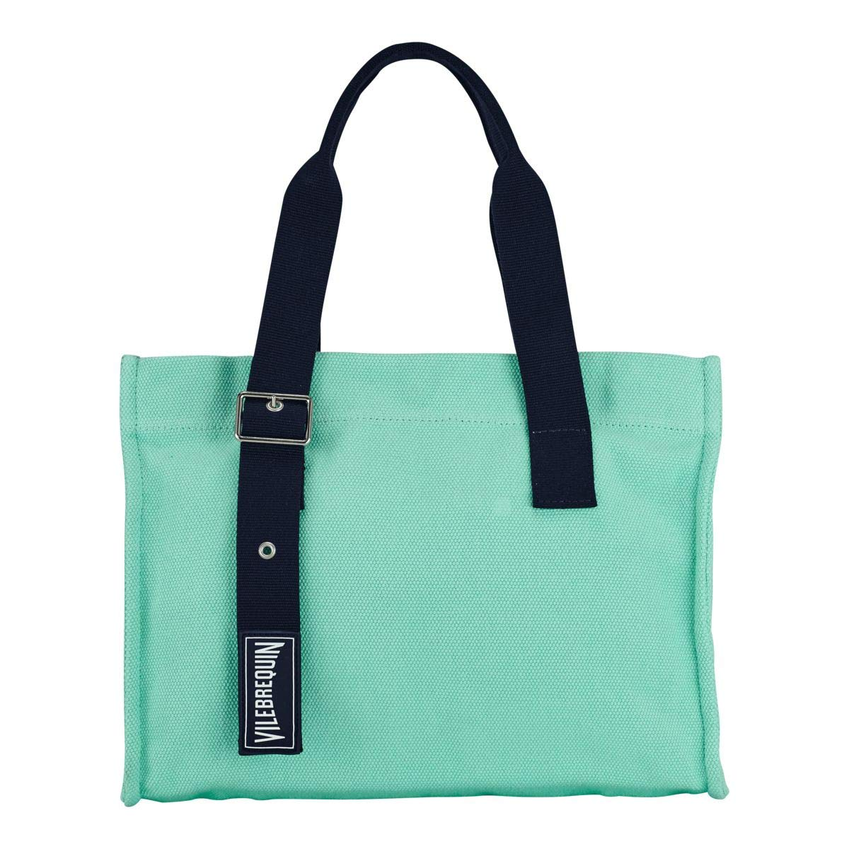 Vilebrequin - Small Cotton Beach Bag Solid - Mint - OSFA by Vilebrequin