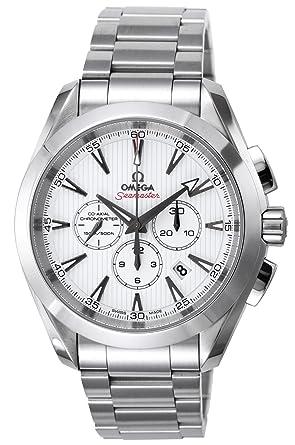 buy popular f99a5 09340 [オメガ]OMEGA 腕時計 シーマスター アクアテラ ホワイト文字盤 コーアクシャル自動巻 裏蓋スケルトン 150m防水  231.10.44.50.04.001 メンズ 【並行輸入品】